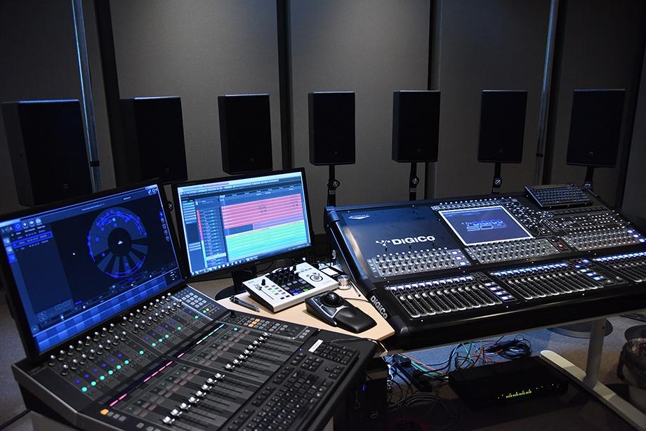LS – Mix on loudspeakers - illustration