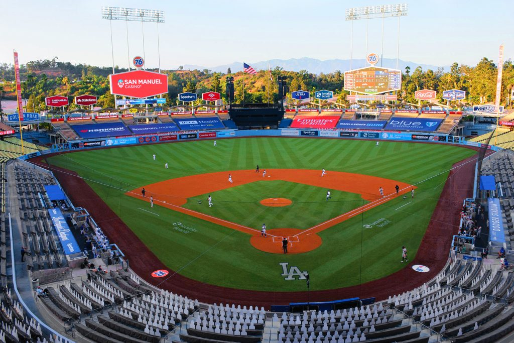 2020 Opening Day: San Francisco Giants vs Los Angeles Dodgers