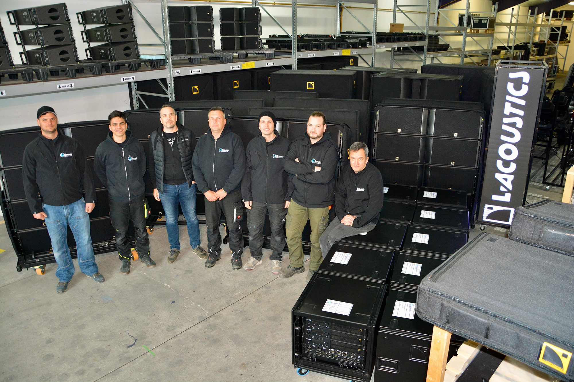 Hungary's G-Sound Boosts Offering by Adding L-Acoustics K Series to Inventory featured image