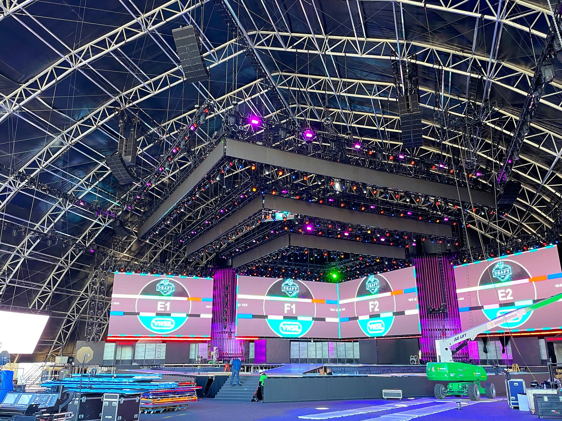 L-Acoustics K2 is First Round Pick for NFL Draft featured image