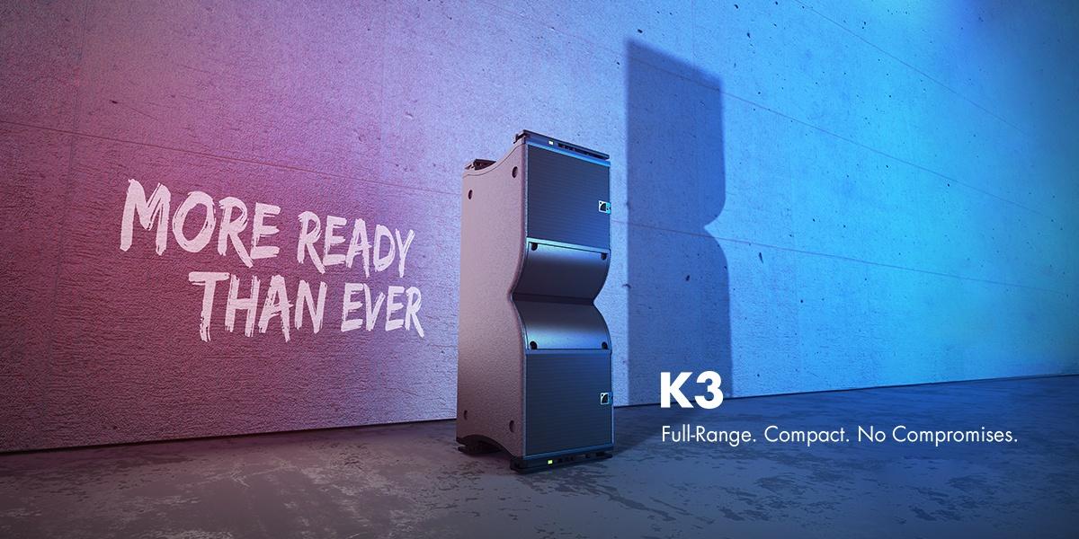 L-Acoustics Reveals Compact, Full-Range K3 Line Source System featured image