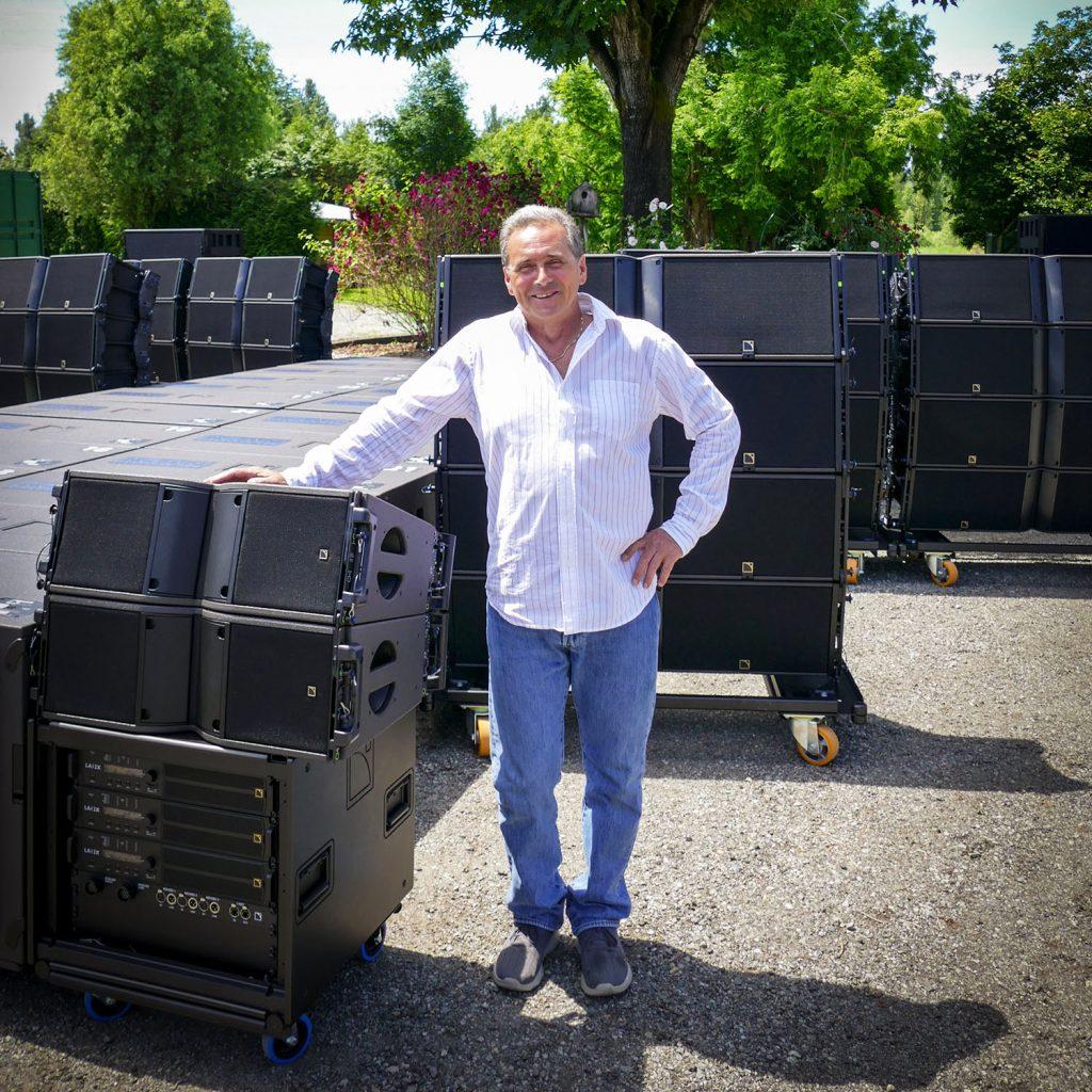 KiAN Concert Sound Services' Mark Reimann