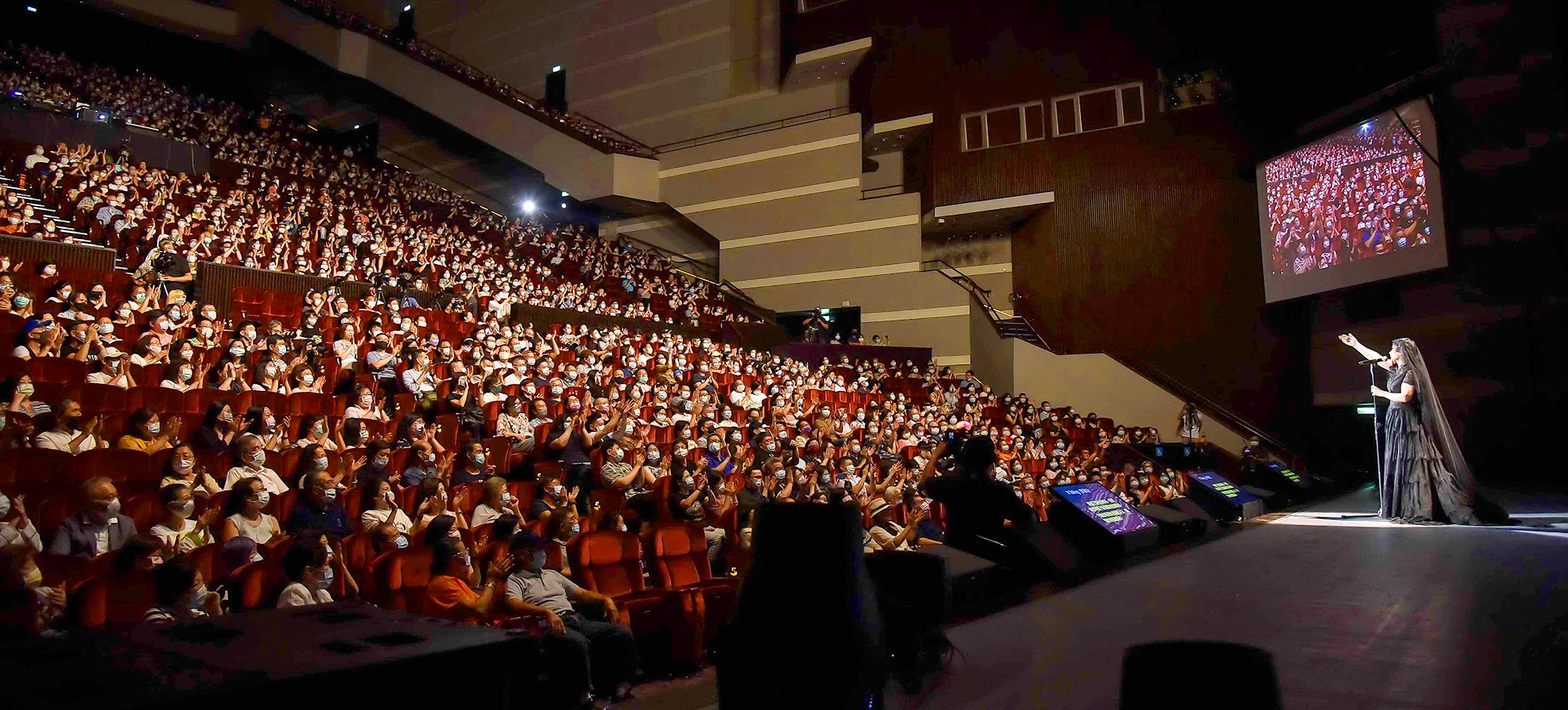 Michelle Pan's Voice Touches Hearts with L-Acoustics K2/Kara system featured image