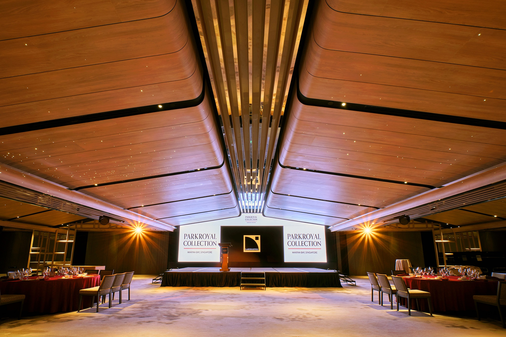 L-Acoustics Syva Installed in Singapore's Luxurious PARKROYAL COLLECTION Marina Bay featured image