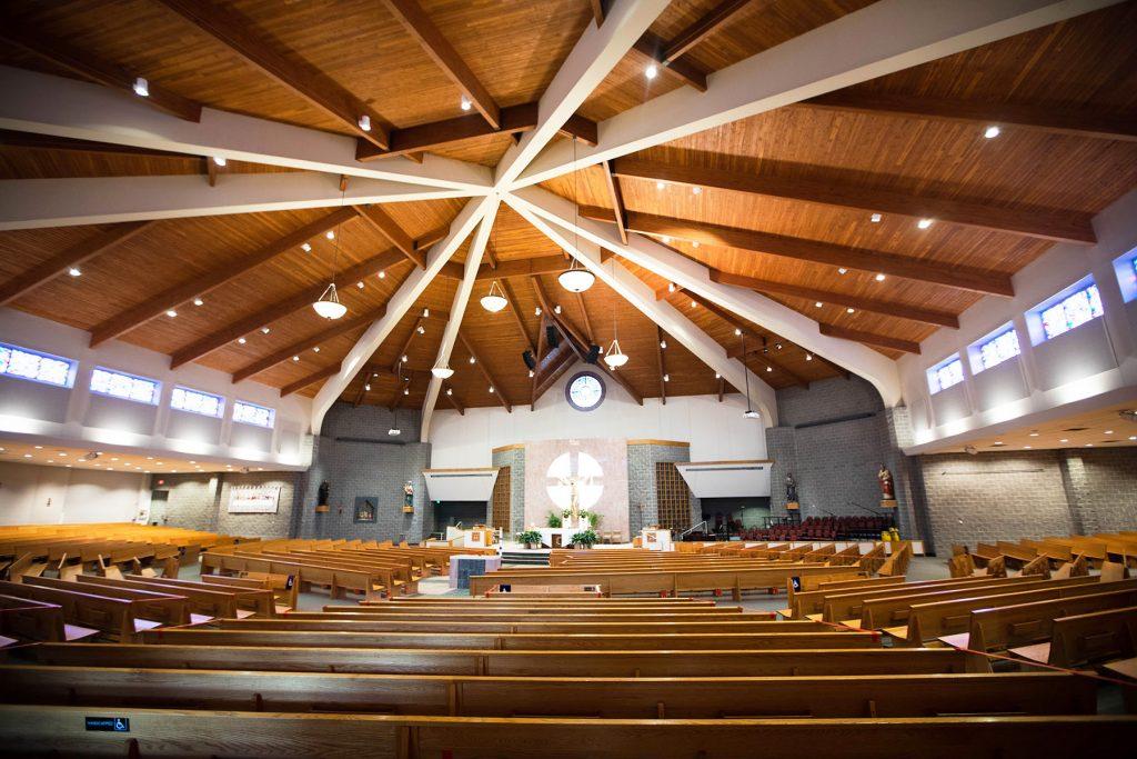 St. Matthew ranks as the largest US Catholic church