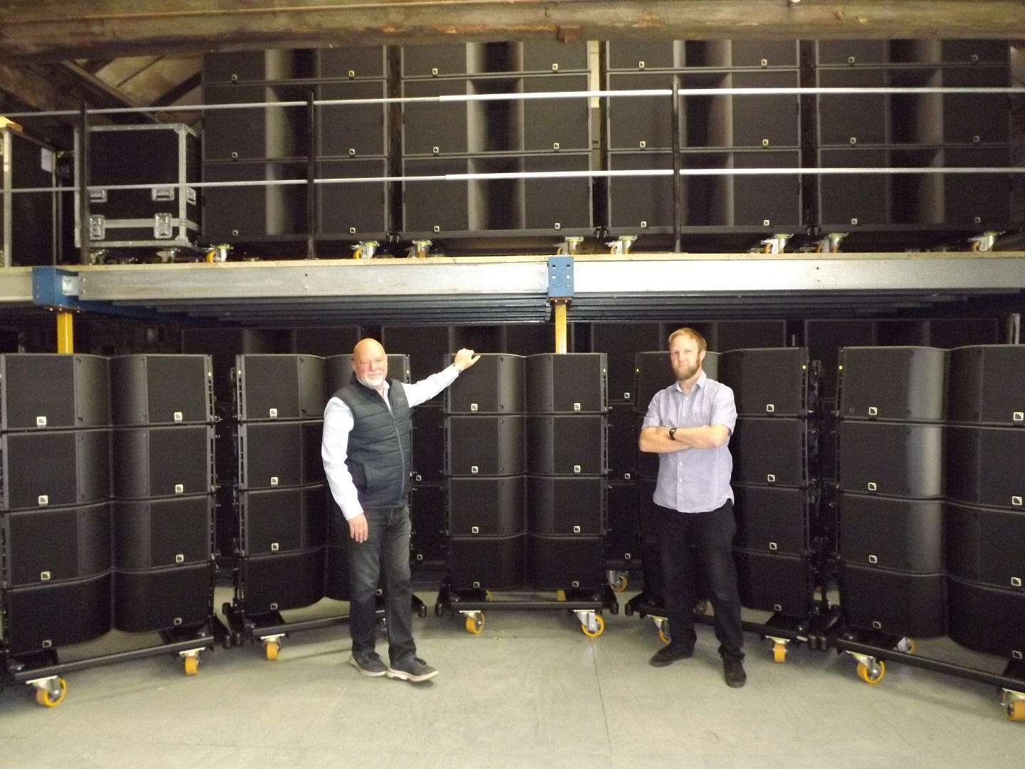 Stage Audio Services/Tour-Tech Ltd Bring First L-Acoustics K3 System to the UK featured image