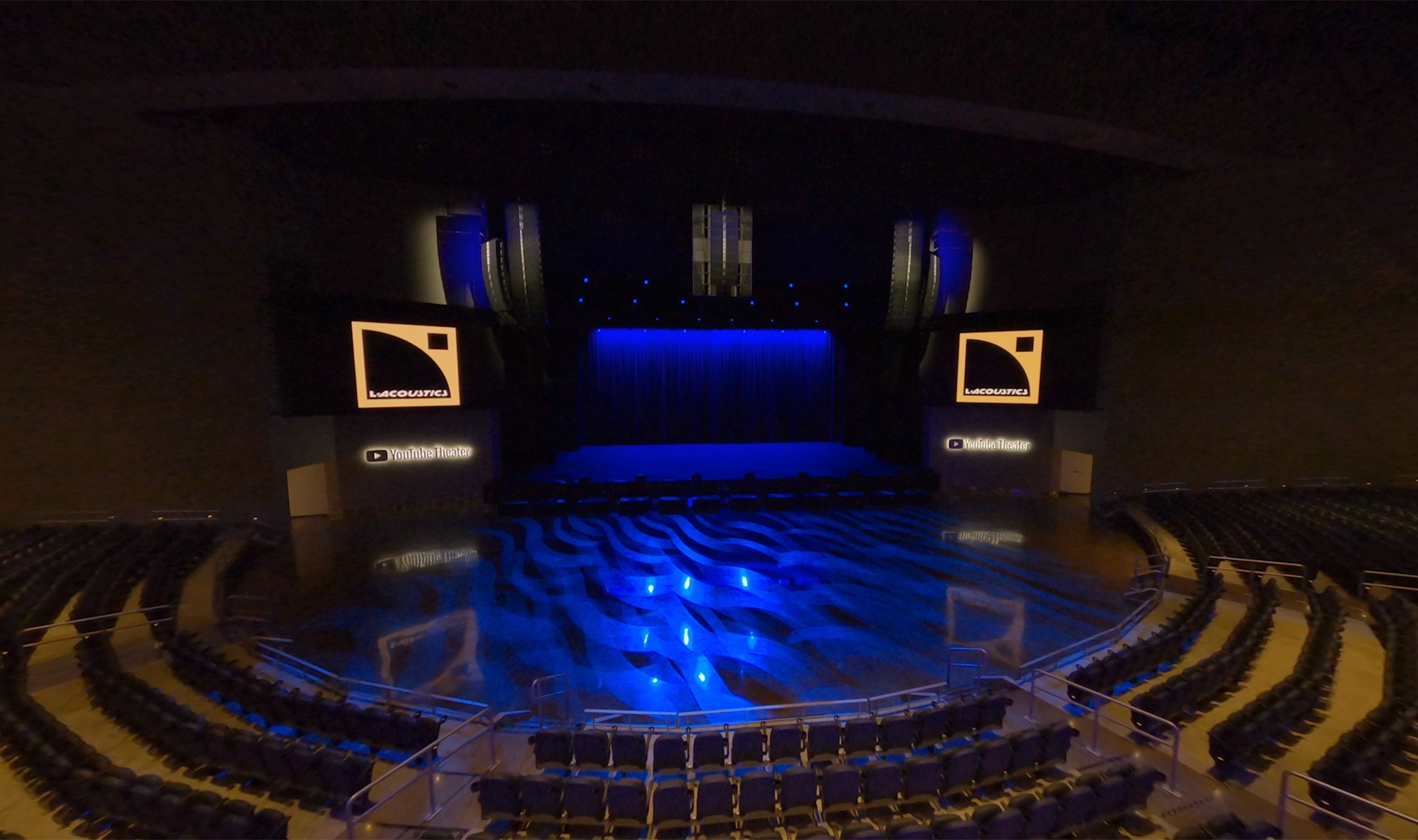 Newly Launched YouTube Theater Comes Embedded with L-Acoustics featured image